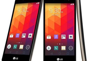 Smartphone LG Espírito H422: comentários, comparação, descrição e características