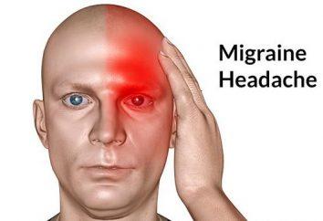 Migrena: jak złagodzić ból. Jak usunąć bóle głowy migreny
