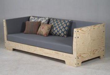 Creare un divano con le mani