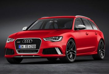 """""""Audi RS6 Avant"""": specyfikacje techniczne"""