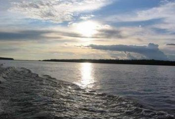 Il fiume più grande in Russia è in Siberia