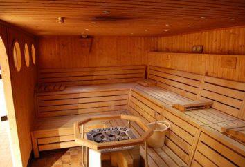 Sauna con una piscina (Ivanovo) per coloro che apprezzano il loro tempo libero.