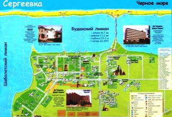 Sergeyevka, regionu Odessa. uzdrowisk