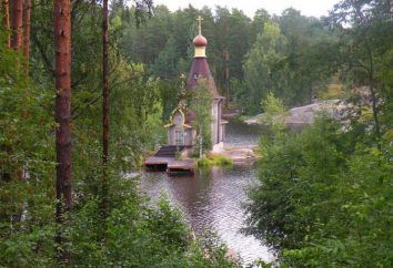Świątynia Andreya Pervozvannogo na Vuoksa. Historia tego miejsca