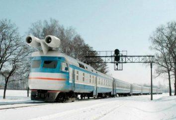 Il primo treno a getto in URSS: la storia, le caratteristiche, le foto