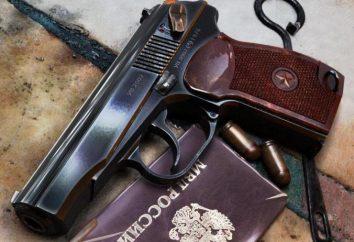 Las partes principales de la pistola Makarov y su propósito