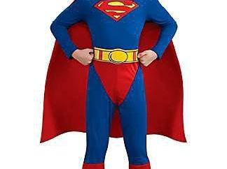 Superman costume – un popolare vestito di carnevale
