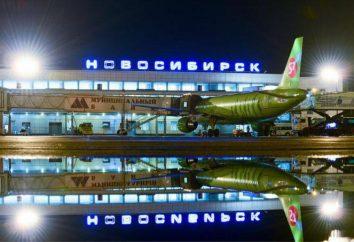 Onde está Tolmachevo Airport – o maior aeroporto na Sibéria