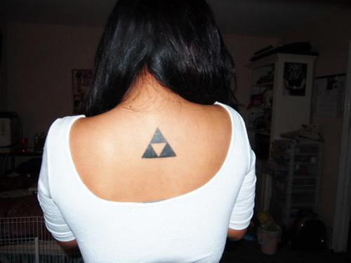 Znaczenie Tatuażu Trójkąt Głęboki Sens W Małym Zdjęciu