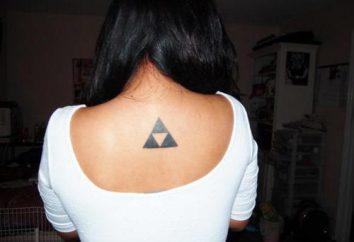 """Significado tatuaje """"triángulo"""": un significado profundo en la imagen pequeña"""