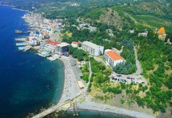 Going on Urlaub in Bluff Siedlung (Krim). Beschreibung, Infrastruktur, real
