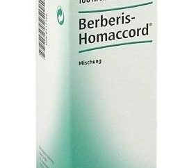 "Homeopatyczne krople ""Berberis Homaccord"""