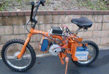 Rower elektryczny z własnymi rękami przez 30 minut. Samochodowy rower elektryczny