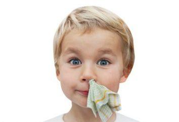 Dlaczego nos jest krwawiący od dzieci? Co z tym zrobić?