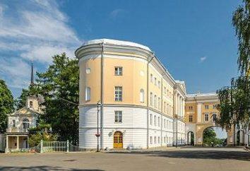 Zarskoje Selo Lyceum – Schule, brachte die Farbe der Zeit bis