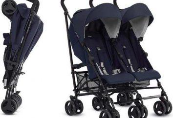 Wózek Inglesina Swift: opcja dla bliźniąt. opinie