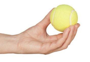 Palla da tennis e il suo utilizzo