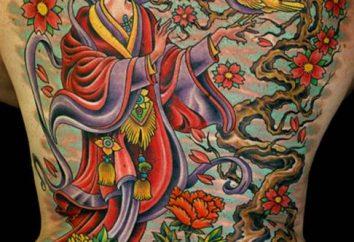 Japanische Tattoos. Secrets Attraktivität, Grundwerte