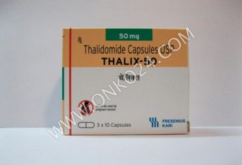 """""""Thalidomid"""": Analoga Preis. Als billiger Thalidomid zu kaufen"""