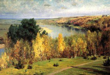 """Opis obrazu """"Złota Jesień"""" Polenov: podziwiając i marząc"""