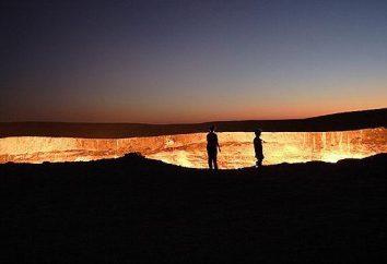 """Darwaza, """"las puertas del infierno"""", Turkmenistán"""