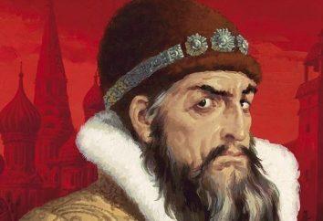 O primeiro czar russo Ivan Grozny
