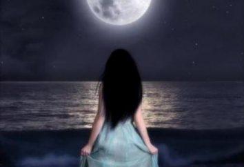 Cerimônia na lua nova de amor e dinheiro