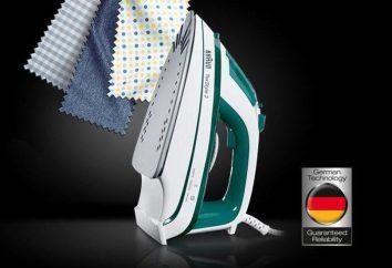 Fer Braun TS 345: description, spécifications, commentaires