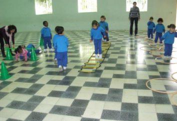Täglich Morgengymnastik im Kindergarten