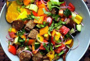 salade savoureuse d'été: trois recettes avec piment doux