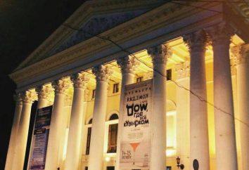 Ryazan Estado Regional Teatro Drama: repertório trupe comentários