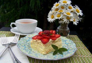 """""""Napoleão"""" na panela: receita de bolo. Bolo """"Napoleão"""", cozido em uma frigideira (foto)"""