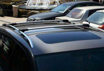 Arc na dachu samochodu (szyny): rodzaje instalacji