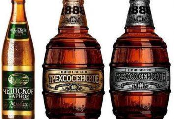 """Cerveza """"Trehsosenskoe"""" – una verdadera bebida rusa"""