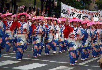 « Semaine d'or » au Japon: la date, l'histoire du festival, l'événement
