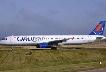 Onur Air: opiniones de avión