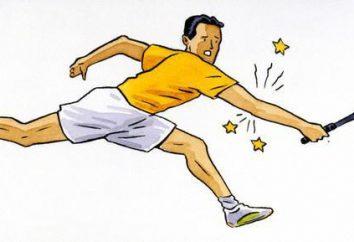 """Syndrom """"łokieć tenisisty"""" Leczenie środków ludowej, ćwiczenia"""