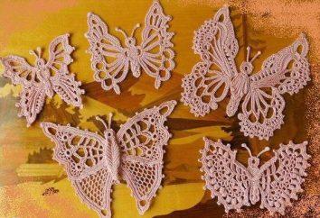 Szydełko motylkowe: schemat i opis, zdjęcie