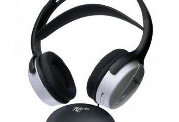 Ritmix Słuchawki bezprzewodowe: opinie, opisy, modele i opinie