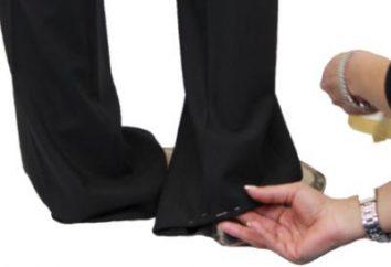 Aby pomóc gospodyń domowych, jak uszyć spodnie