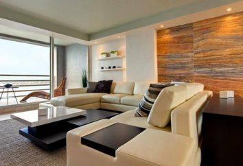 O projeto do apartamento moderno. apartamentos de design clássicos modernos
