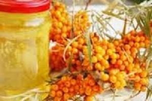 Seabuckthorn, com açúcar: preparações receita vitamina para o inverno sem cozinhar
