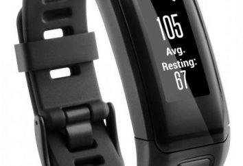 bransoletka fitness Garmin Vivosmart HR: opinie, instrukcje