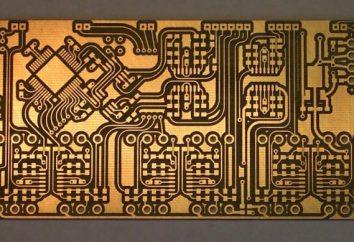 carte de circuit imprimé: description, la désignation