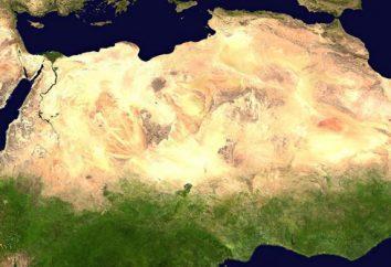 Désert, situé en Afrique. désert africain: le Sahara, Namib, Kalahari