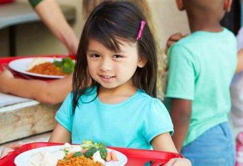 Un'applicazione di esempio per pasti gratuiti a scuola. Categorie di cittadini che possono usufruire di questo beneficio