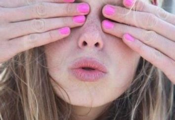 Brillante rosa manicure: Essere di tendenza!