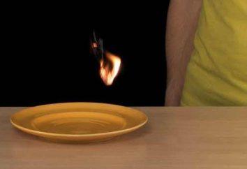 experimentos físicos y químicos en el hogar: sentirse como un mago!