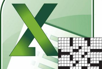 Sposób w Excelu zrobić krzyżówkę