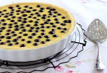 Finlandês torta de blueberry: a receita de mirtilos frescos ou congelados